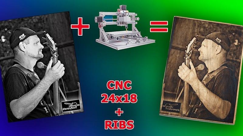 CNC2418 RIBS Попытка подружить