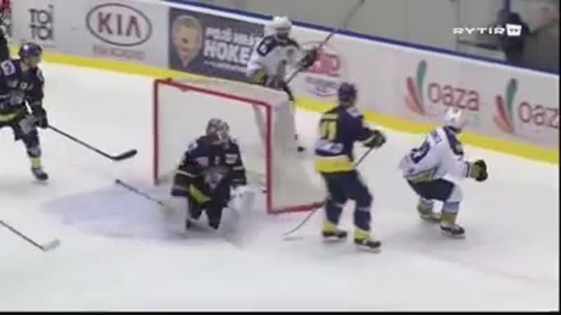 58. kolo Chance ligy: Rytíři Kladno - Slovan Ústí nad Labem 3:2