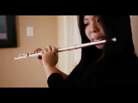 Это самая шедевральная игра на флейте Она молодец
