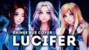ElliMarshmallow Cleo chan HaruWei Lucifer RUS cover SHINee