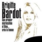 """Brigitte Bardot альбом Son premier microssillon """"Et Dieu... créa la femme"""" (extraits de la Bande Originale du Film)"""