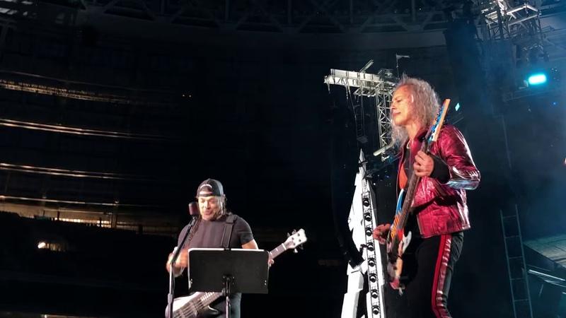 Рок группа Metallica и песня группы Кино и Виктора Цоя Группа Крови