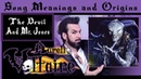 Song Meanings and Origins The Devil and Mr Jones Aurelio Voltaire
