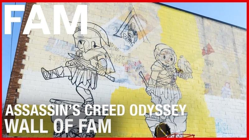 Ubisoft FAM - Assassins Creed Odyssey Wall of FAM