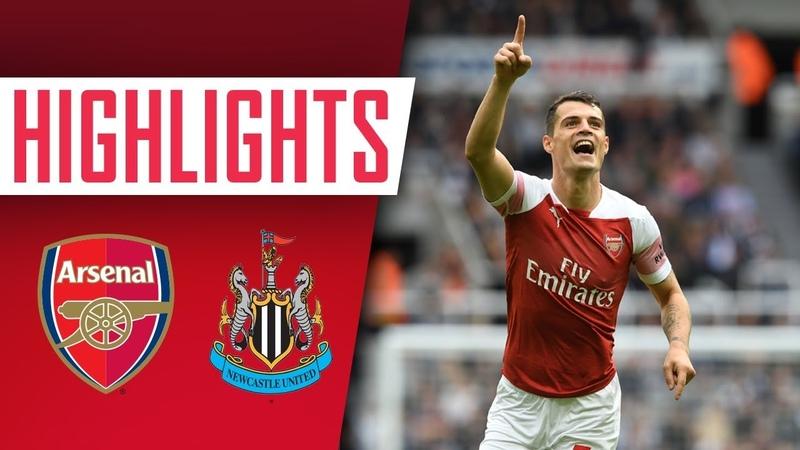 Highlights Newcastle 1 2 Arsenal