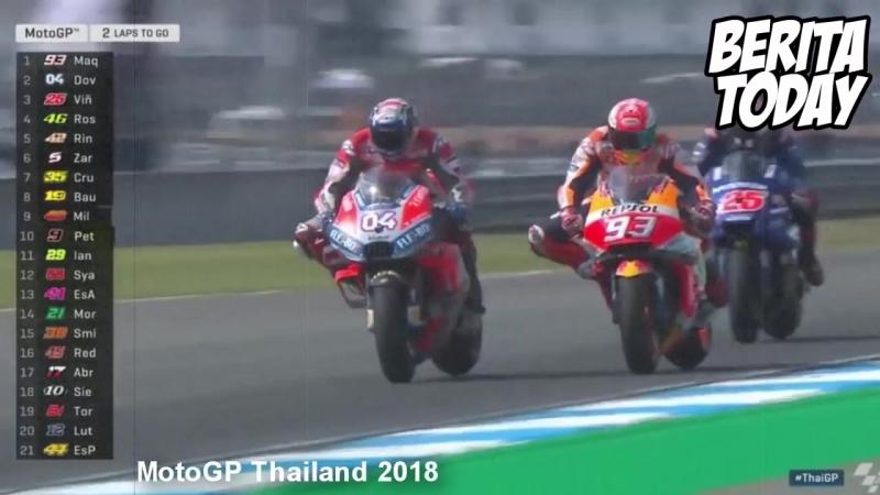 Aksi Dueel Marquez Mencengangkan Yang Bikin MotoGP Tambah Seru