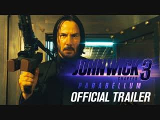 Официальный Первый Дублированный Русский трейлер фильма «Джон Уик 3 / John Wick: Chapter 3» 2019 года.