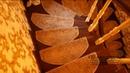 Отделка бетонной лестницы с плавным поворотом Результат