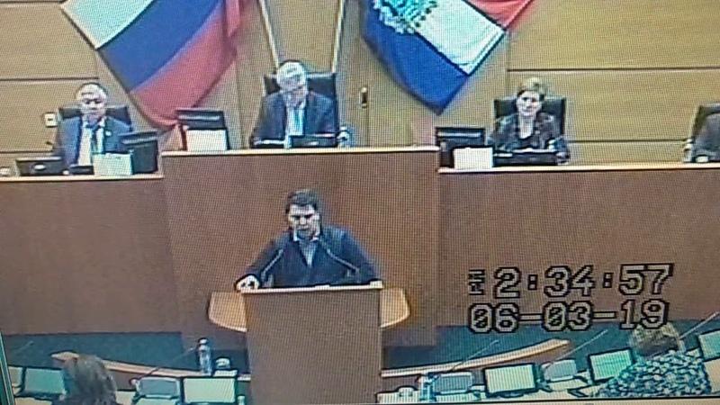 Жесткое выступление самарского депутата Матвеева по пенсионным подачкам Медведева