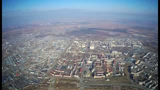 Осенний Нефтеюганск c 700 и 900м высоты