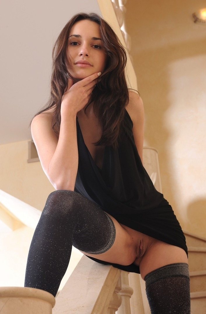 Lick cum on her high heels