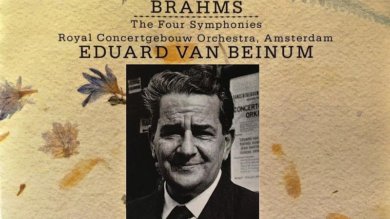 Brahms - The Four Symphonies No.1,2,3,4 (reference recording : Eduard Van Beinum)