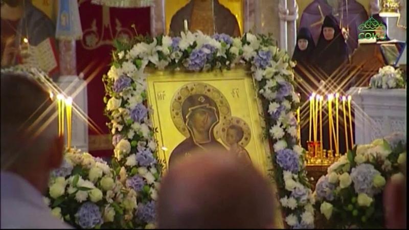 Всенощное бдение из Александро-Невского Ново-Тихвинского женского монастыря города Екатеринбурга