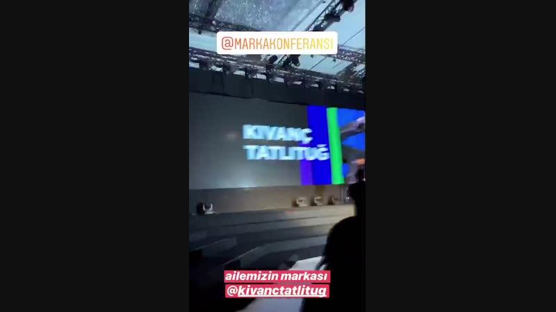 Kıvanç Tatlıtuğ, MARKA2018 Konferansından.