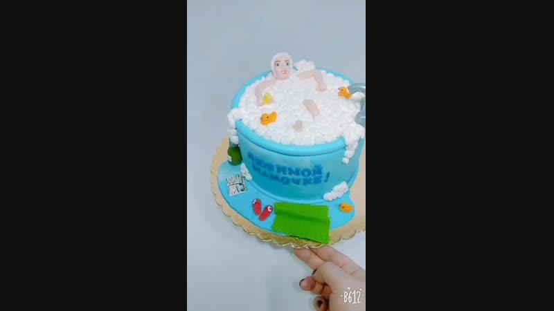 Тортик для любимой мамочки)