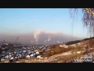 Видео о том как в Новокузнецке дымят не заводы, а транспорт и частный сектор.