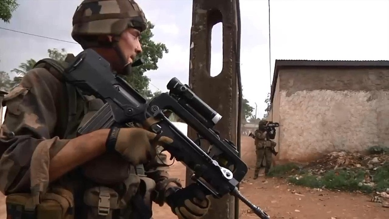 French Military Operation in Mali - Combat Footage (Operation Barkhane and Serval)