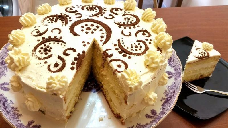 Торт Пломбир тает во рту Ани Кухня