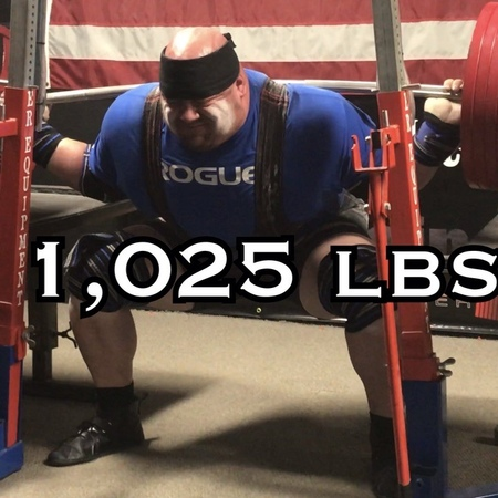 """Blaine Sumner on Instagram: """"Hit my squat and deadlift openers tonight. 1,025 lbs. on the squat and feeling good. Don't know where I'd be without @..."""