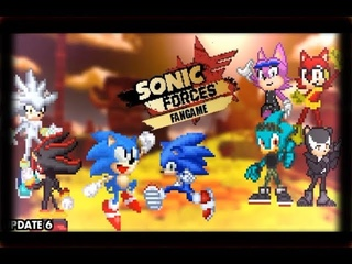 Sonic Forces 2D Fan Game (PC) - Gameplay + Download Link