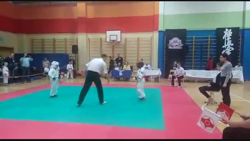 Бой Саши Макурина