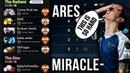 Miracle- Invoker vs LVL 25 Meepo Spammer Ares - BRUTAL Mid Battle - Dota 2 TOP MMR