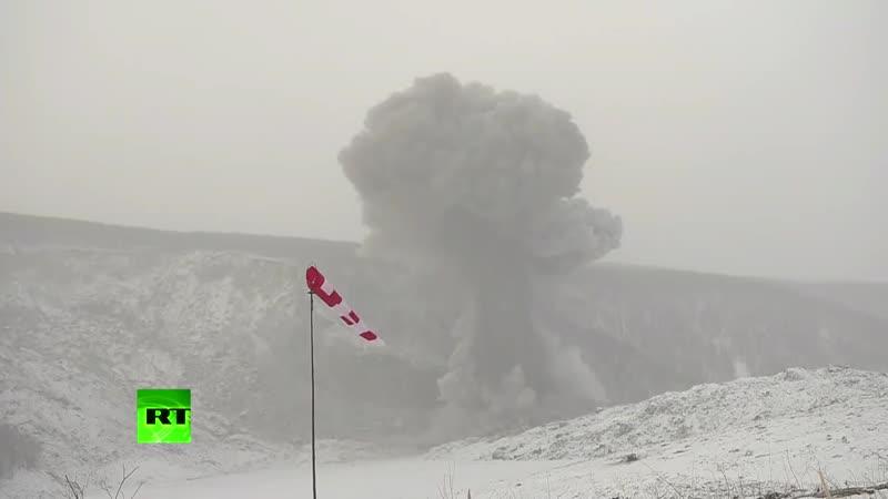 Военные расчистили Бурейское водохранилище с помощью управляемого взрыва 10 тонн