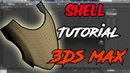 3Ds max all modifiers : shell