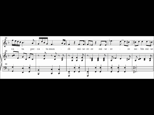 Agnus Dei - (Coronation Mass) Missa Brevis in C Major - KV 317 - Mozart