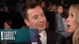 Jimmy Fallon Teases Singing With Jamie Foxx at the E! PCAs E! People's Choice Awards