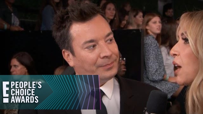 Jimmy Fallon Teases Singing With Jamie Foxx at the E PCAs E People's Choice Awards