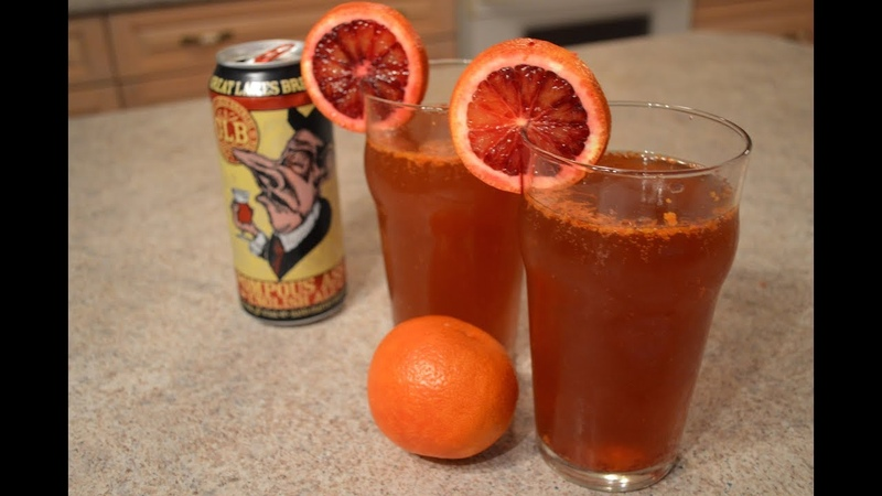 Blood Orange English Ale Shandies Cooking with Kimberly