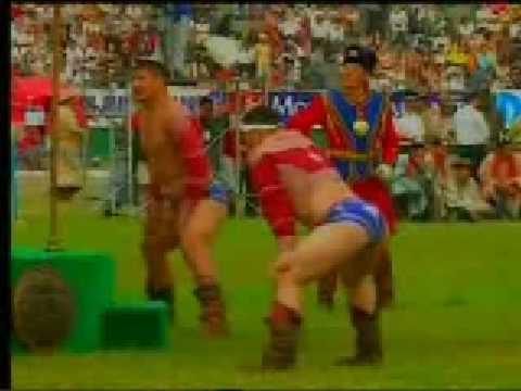 2005 Mongolian Wrestling final