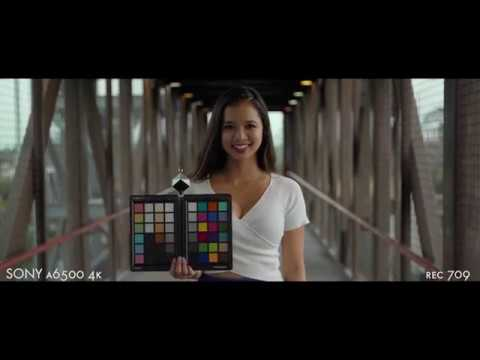 Color Match Sony a6500 and RED Scarlet-W || Opinion