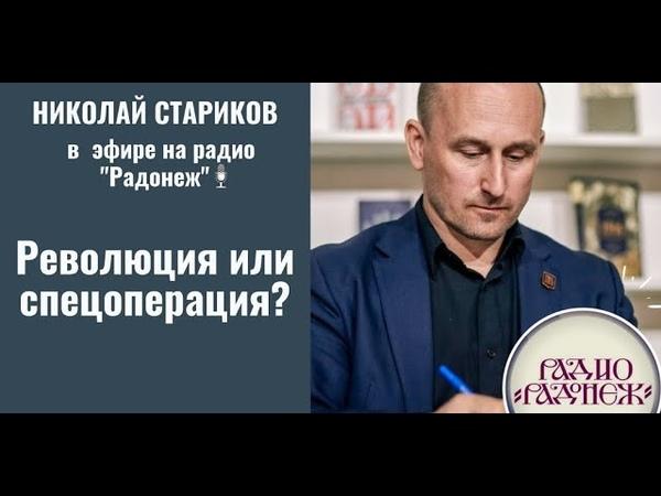 Николай Стариков: 1917 год. Революция или спецоперация?