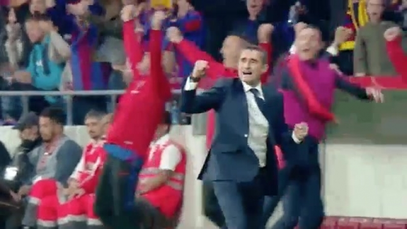 CALLING ALL FANS! Who can sum up todays win with a GIF Any takers - BarçaPSV - .mp4