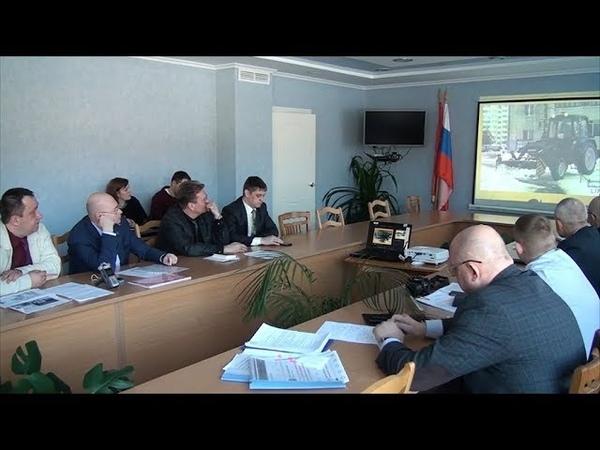 В Администрации Десногорска обсудили уборку снега