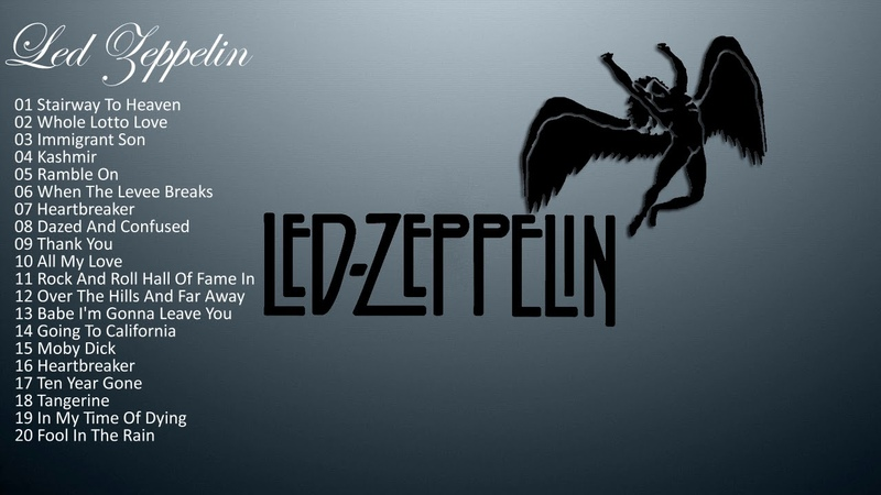 Led Zeppelin*2017 /GRANDES EXITOS Cubierta completa