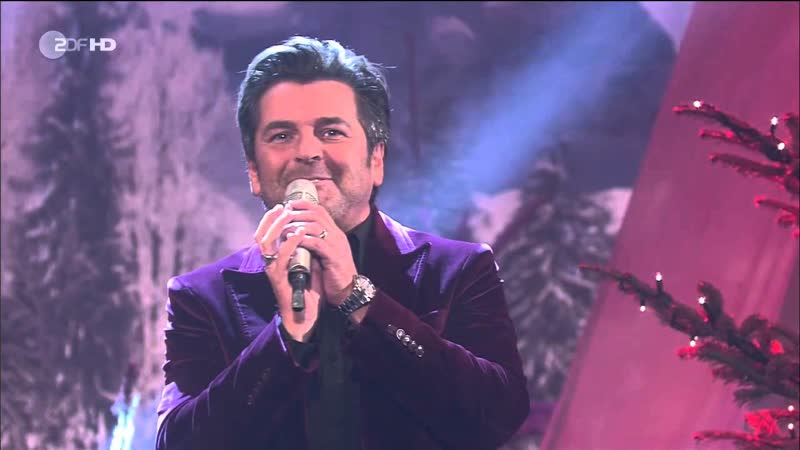 Thomas Anders - It's Christmastime, Kisses for Christmas (ZDF HD, Die Adventsshow, 02.12.2012)