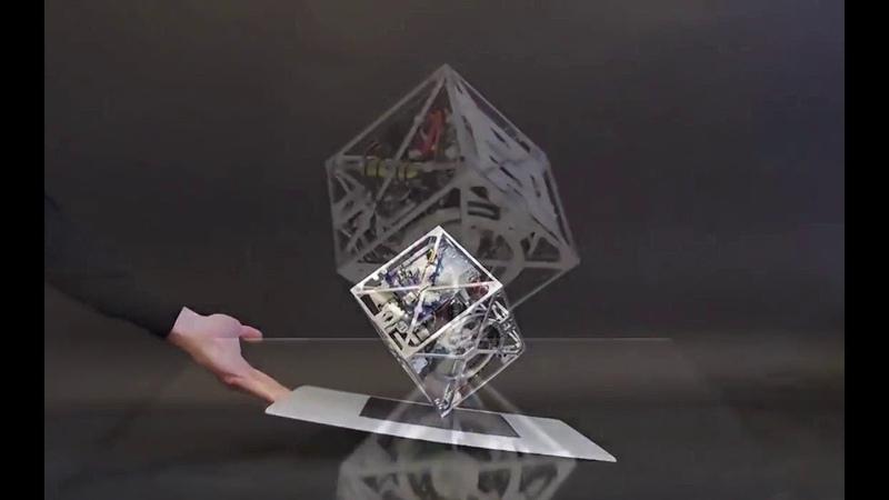 Куб Ли - может прыгать и балансировать! Русский перевод: R-VideoReview... :)