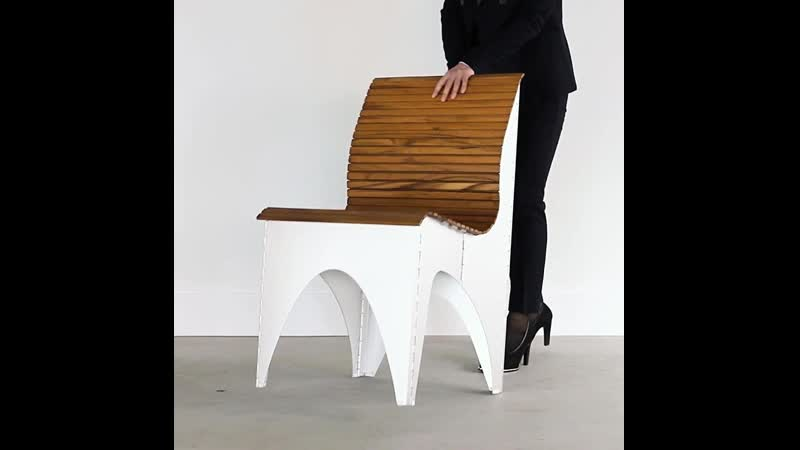 The Shape Shifting Ollie Chair