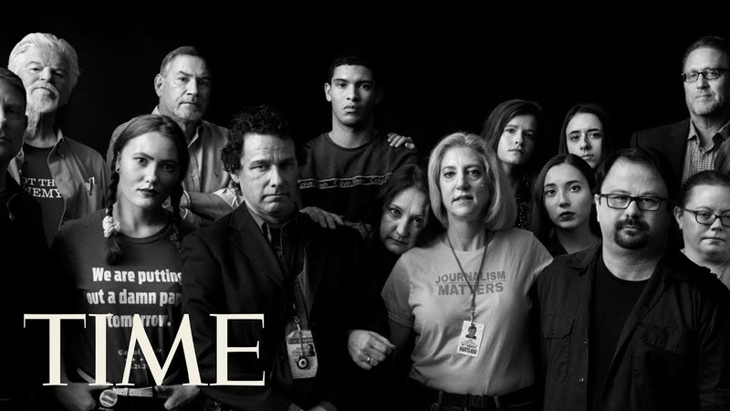 TIME Person Of The Year The Staff Of The Capital POY 2018 TIME