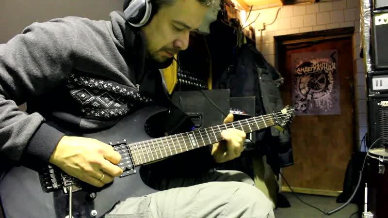 Гаранин продолжение записи гитары для нового альбома КТОЕСТЬКТО