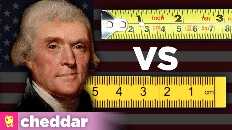 Why Doesnt the US Just Use the Metric System - Cheddar Explains