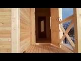 Видео обзор дачного дома Д9 - отличного летнего дома 6х7,5м