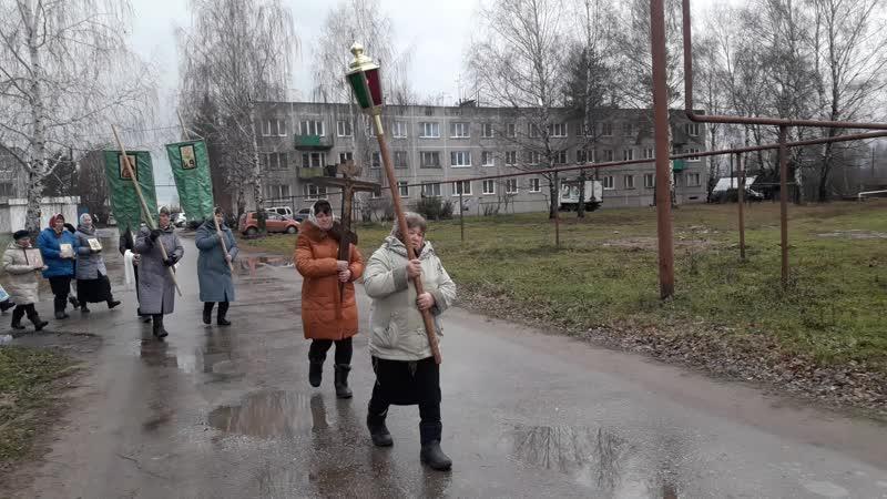 Крестный ход. Престольный праздник в честь Казанской иконы Божьей Матери