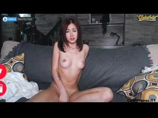 Amateur webcam girl mikimakey sucking dildo and masturbation - beautiful babes