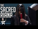 Scariest Magician EVER The Sacred Riana All Auditions And Performances America's Got Talent 2018