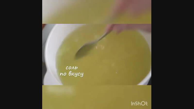 Легкий суп с лапшой