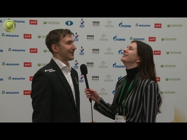 Rapid, day 2. Interview with Sergey Karjakin